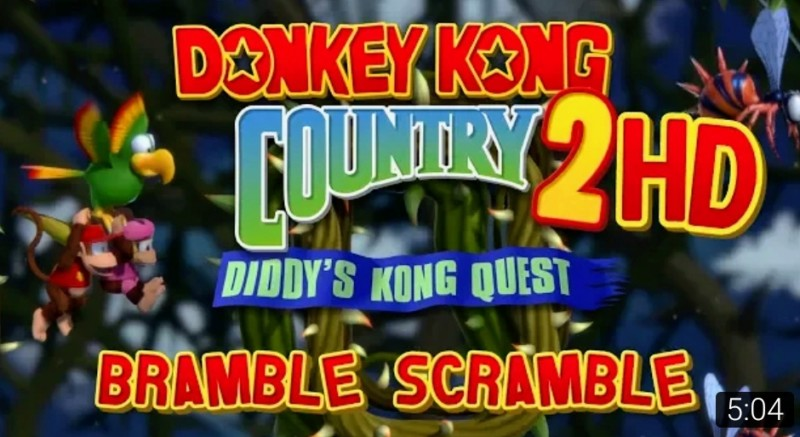 Donkey Kong Country 2 HD Remaster!! 20190410