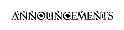 Announcements Announ10