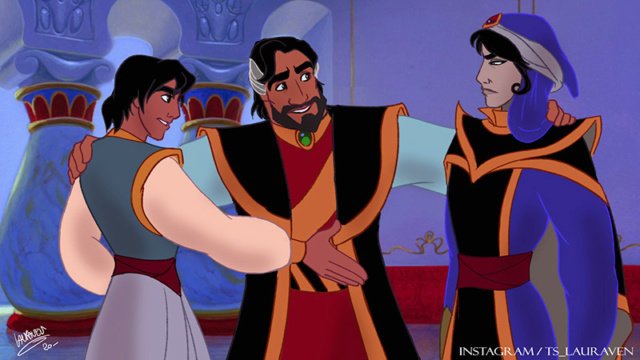 [Dessins] Fanarts de Pumpkin Princess : Mozenrath et Aladdin - Page 5 Afd1dd10