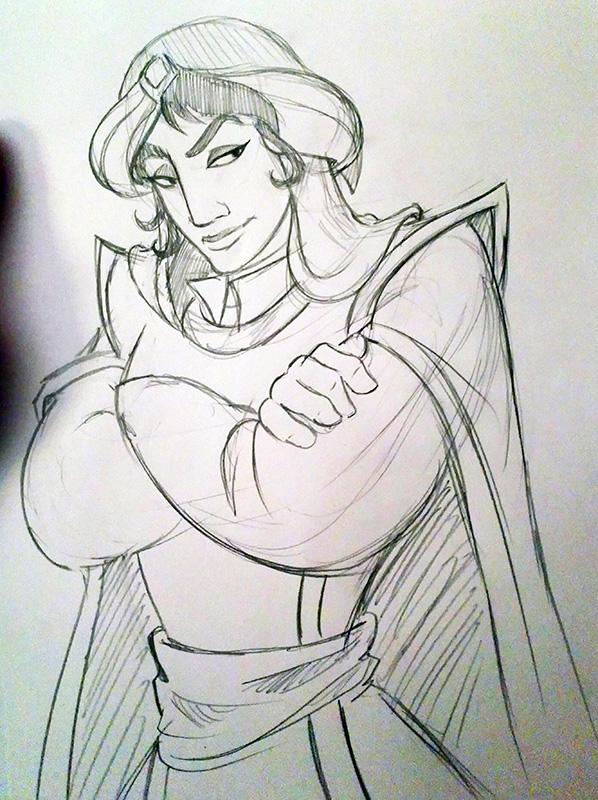 [Dessins] Fanarts de Pumpkin Princess : Mozenrath et Aladdin - Page 5 Dsc_0433