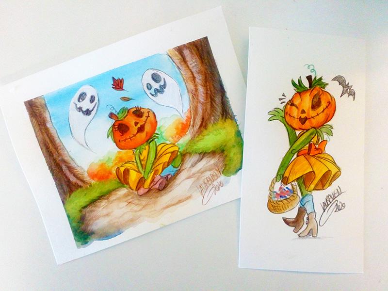 [Dessins] Fanarts de Pumpkin Princess : Mozenrath et Aladdin - Page 5 Dsc_0524