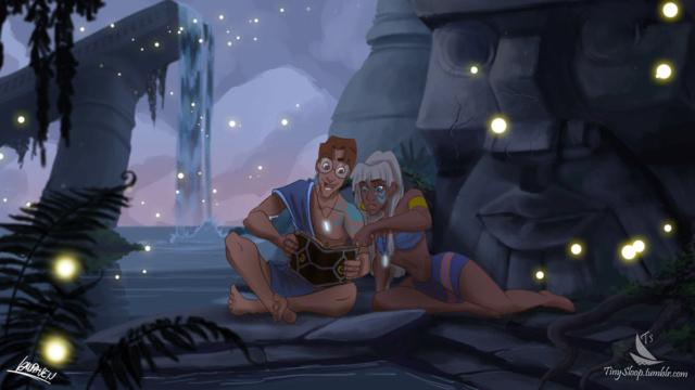 [Dessins] Fanarts de Pumpkin Princess : Mozenrath et Aladdin - Page 5 Tumblr25