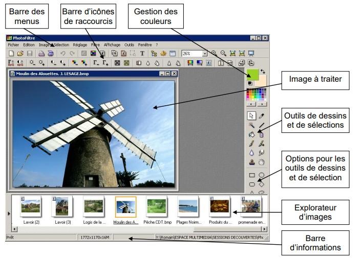 ►Présentation ,Découverte du logiciel PhotoFiltre Studio En_bre10