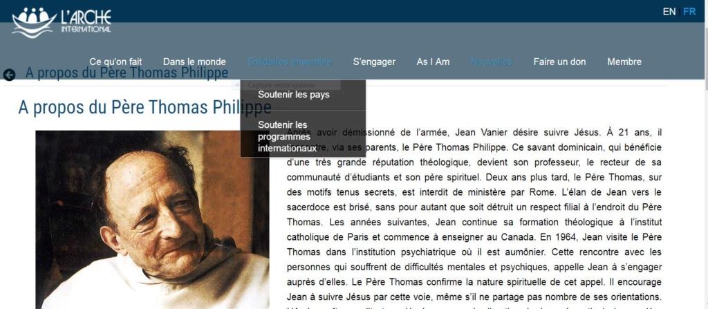 """Les accusation portées contre le Père Marie-Dominique Philippe déclarée """"de forme diffamatoire"""" par Rome - Page 2 Captur63"""