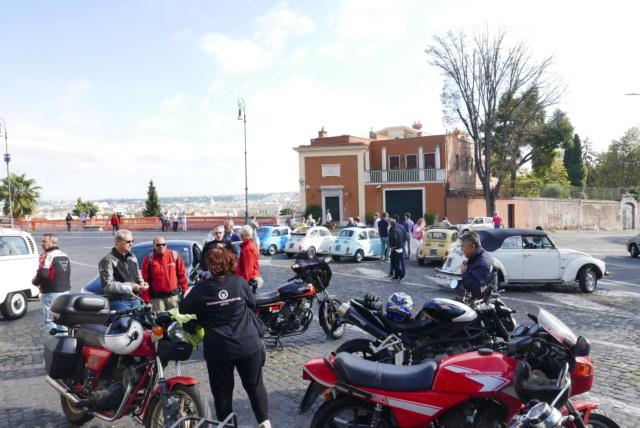 Allons faire un tour à Rome en Morini P1060125