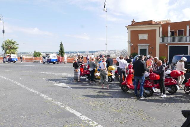 Allons faire un tour à Rome en Morini P1060212