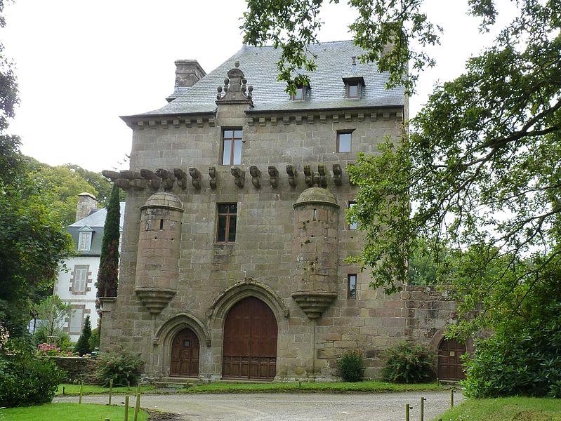 Manoirs et petits châteaux de la guerre de Succession de Bretagne 799px-10