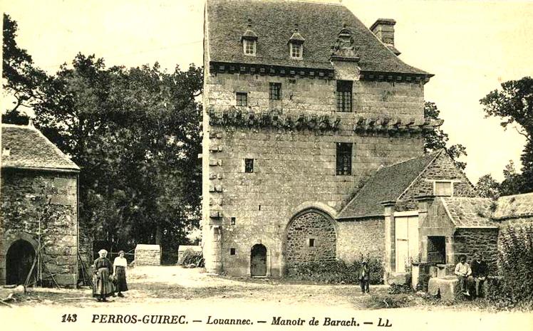 Manoirs et petits châteaux de la guerre de Succession de Bretagne Barac_11