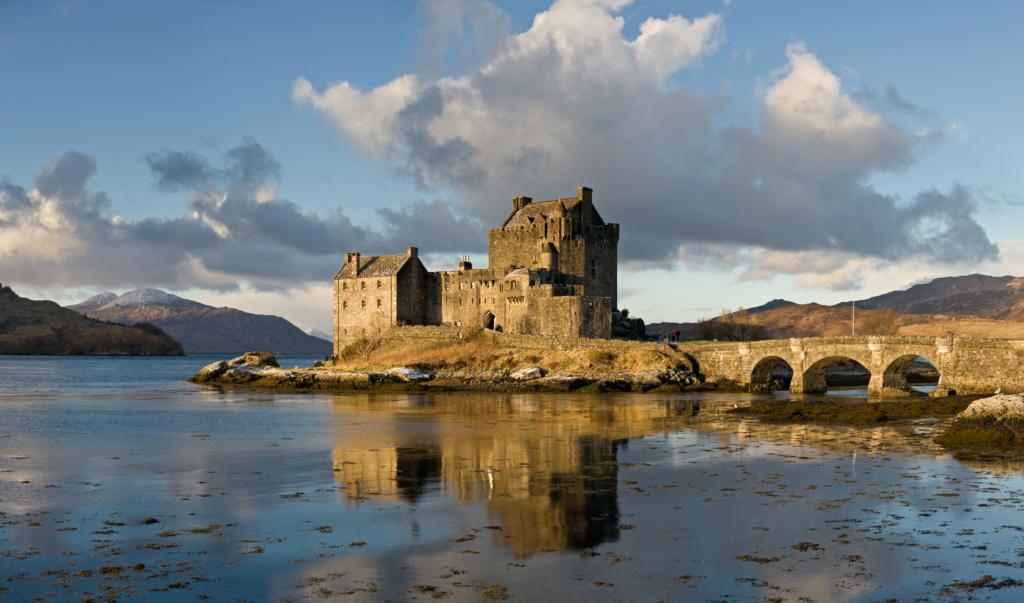 Un bel exemple de château écossais au XVIIème siècle Eilean10