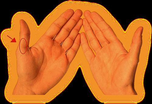 Значение родинок на пальцах. 0310