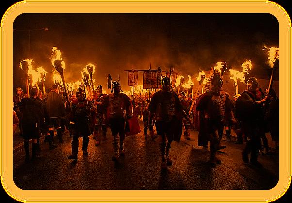 Up Helly Aa - Почитание скандинавской истории Шотландских островов. 29