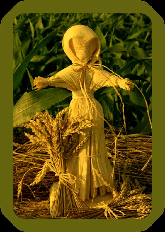 Кукурузные куклы. _54