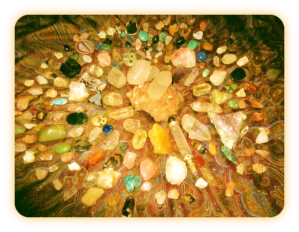Очистка Кристаллов и Камней в Полнолуние. __aaao10