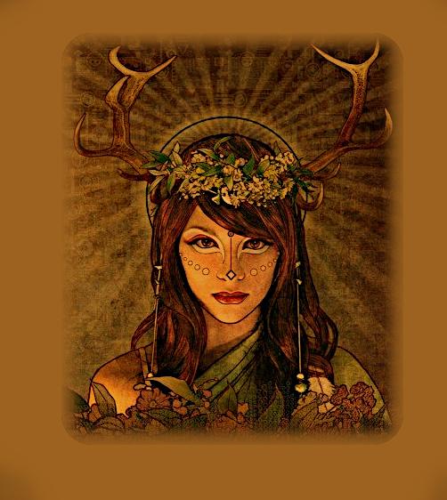 Кельты. Богиня Бригид. A_1810