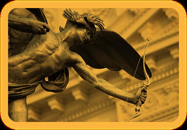 Эрос, Греческий Бог Страсти и Вожделения. A_414