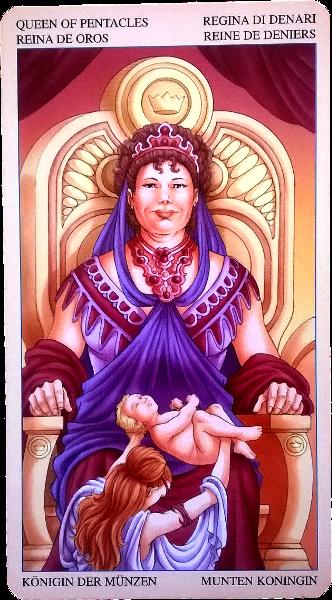 Королева (Дама) пентаклей. A_a_114