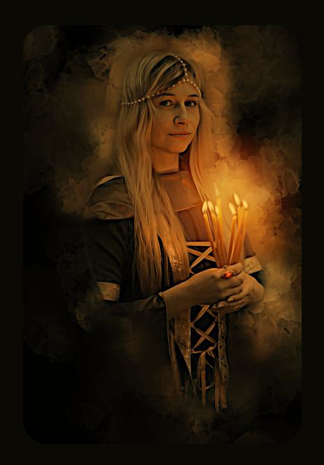 Работа со свечой. Au_a16