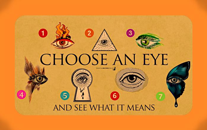 Выберите Глаз и Посмотрите, что это Значит. S12