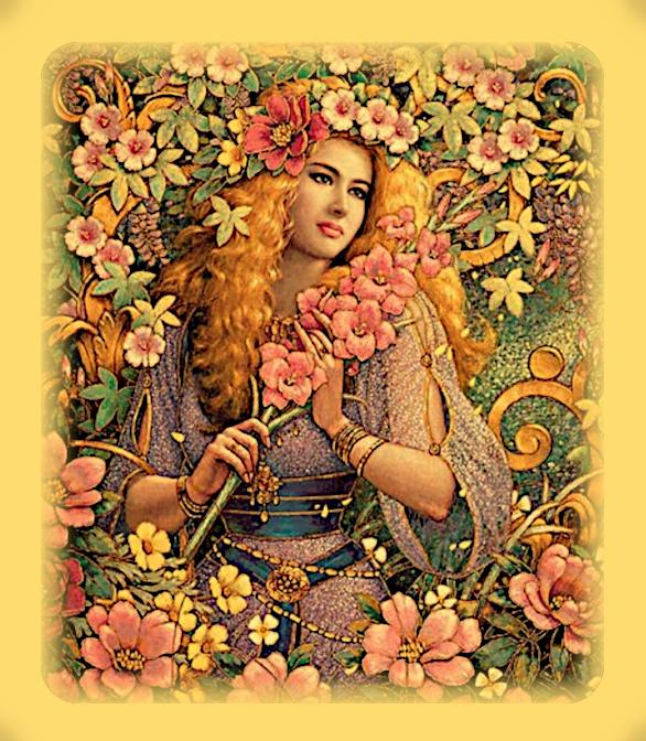 Весеннее Равноденствие. Путь в Историю Остары. Что известно о богине Эостр? Yaaa10