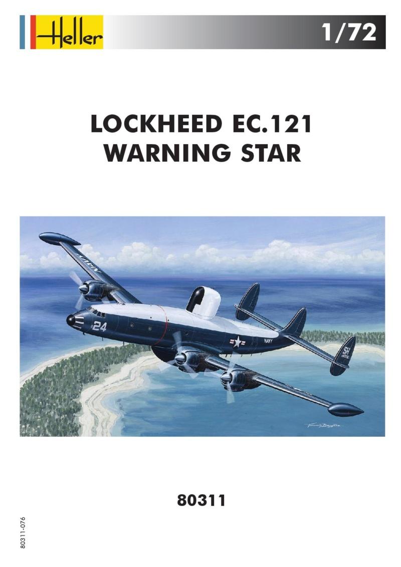 LOCKHEED  EC 121 WARNING STAR 1/72ème Réf 80311 80311-11
