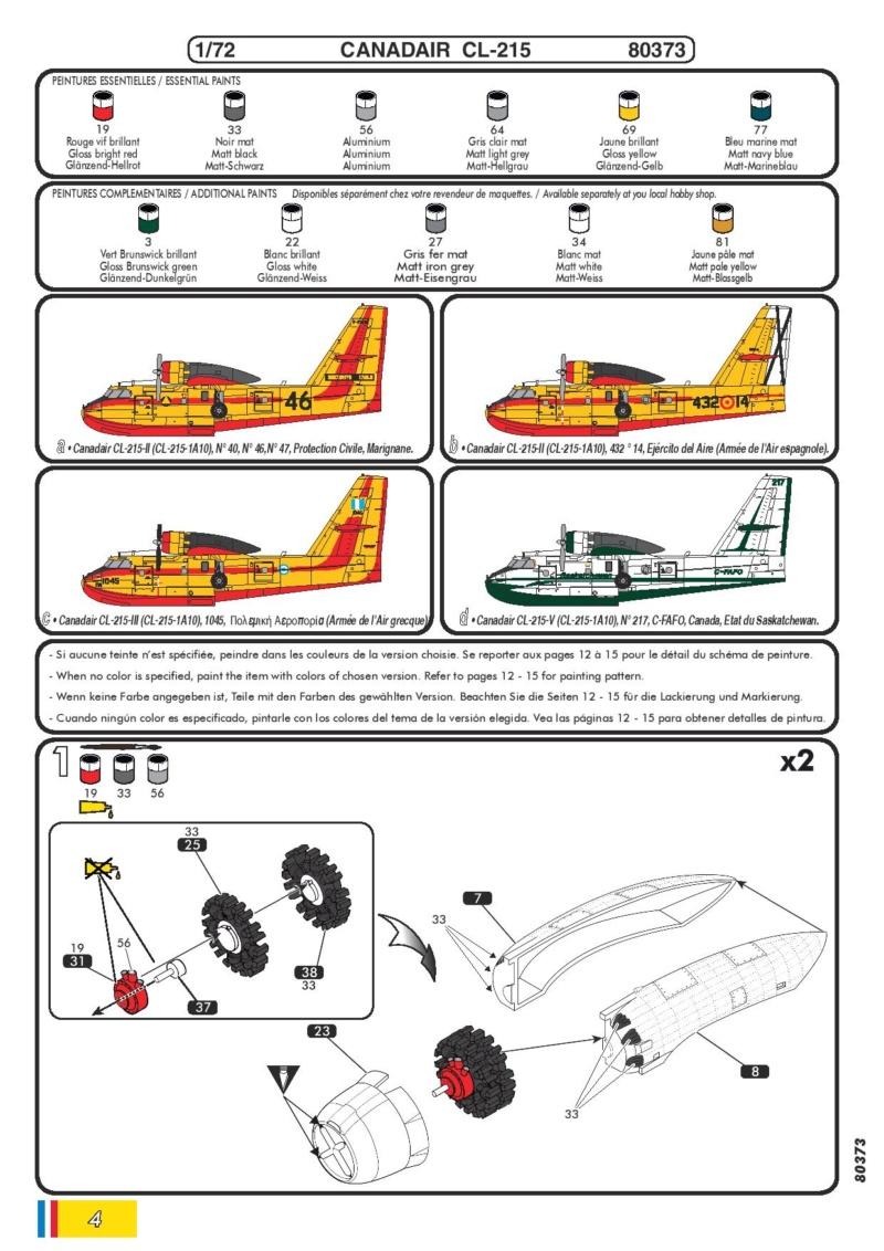 Canadair CL 215 (ref 80373 ) Réedition 2018 80373-16