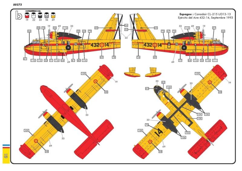 Canadair CL 215 (ref 80373 ) Réedition 2018 80373-21