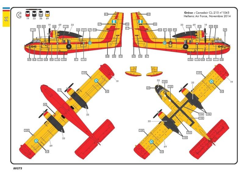 Canadair CL 215 (ref 80373 ) Réedition 2018 80373-23