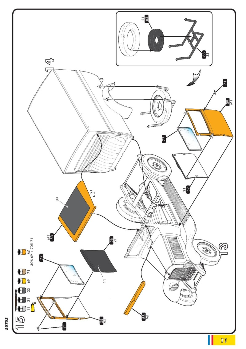 Citroen C4 Fourgonnette 1928 (ref 80703 ) réédition 2018 80703-24