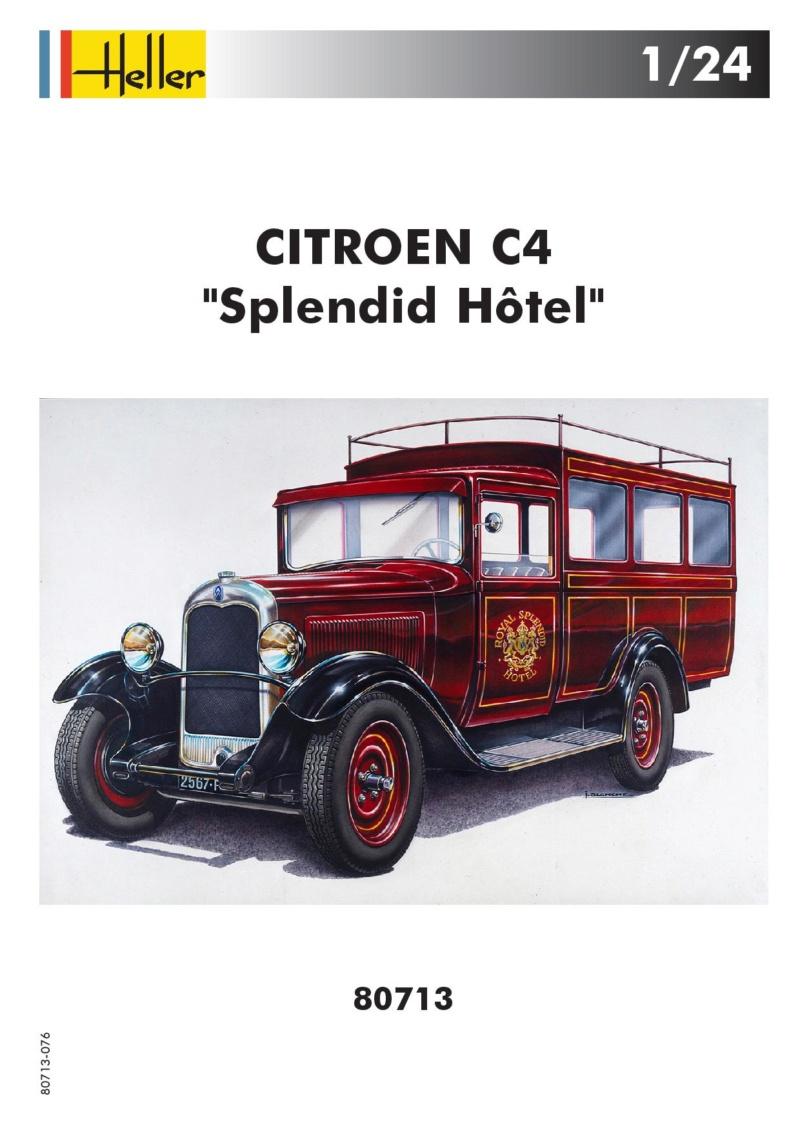 "Citroën C4 ""Splendid Hotêl "" (ref 80713 ) réédition 2018 80713-14"