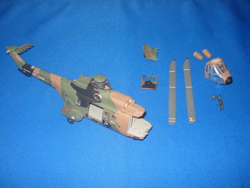 Rénovation AS 332 M1 Super Puma (cougar ALAT ) 1/72e  Dsc06510
