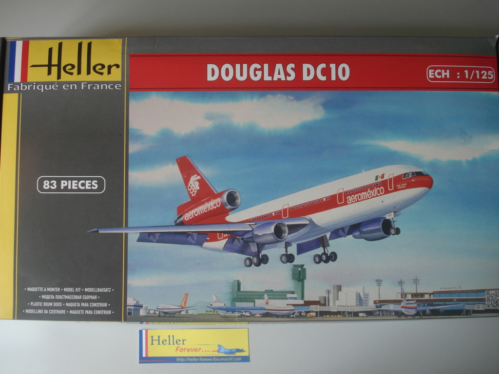 [HELLER] Douglas DC10-30 AEROMEXICO 1/125ème -ref:80460 Dsc07210