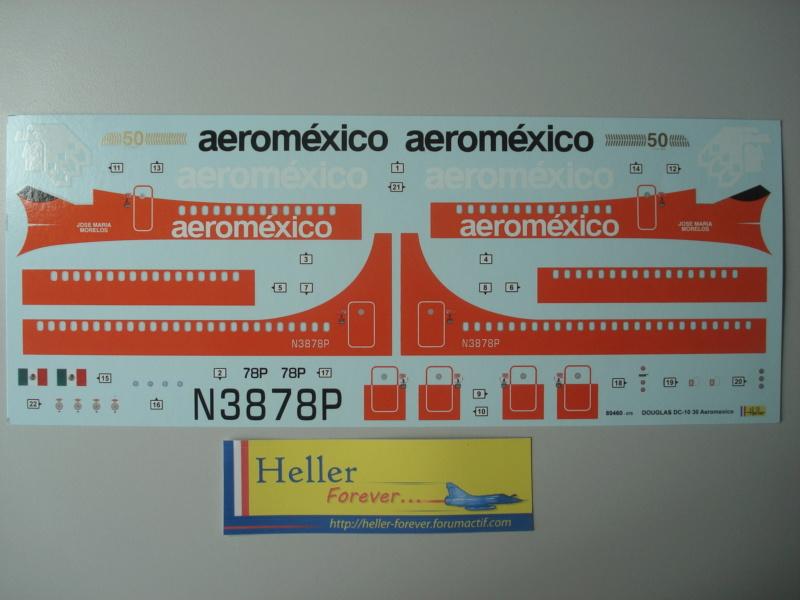 [HELLER] Douglas DC10-30 AEROMEXICO 1/125ème -ref:80460 Dsc07213