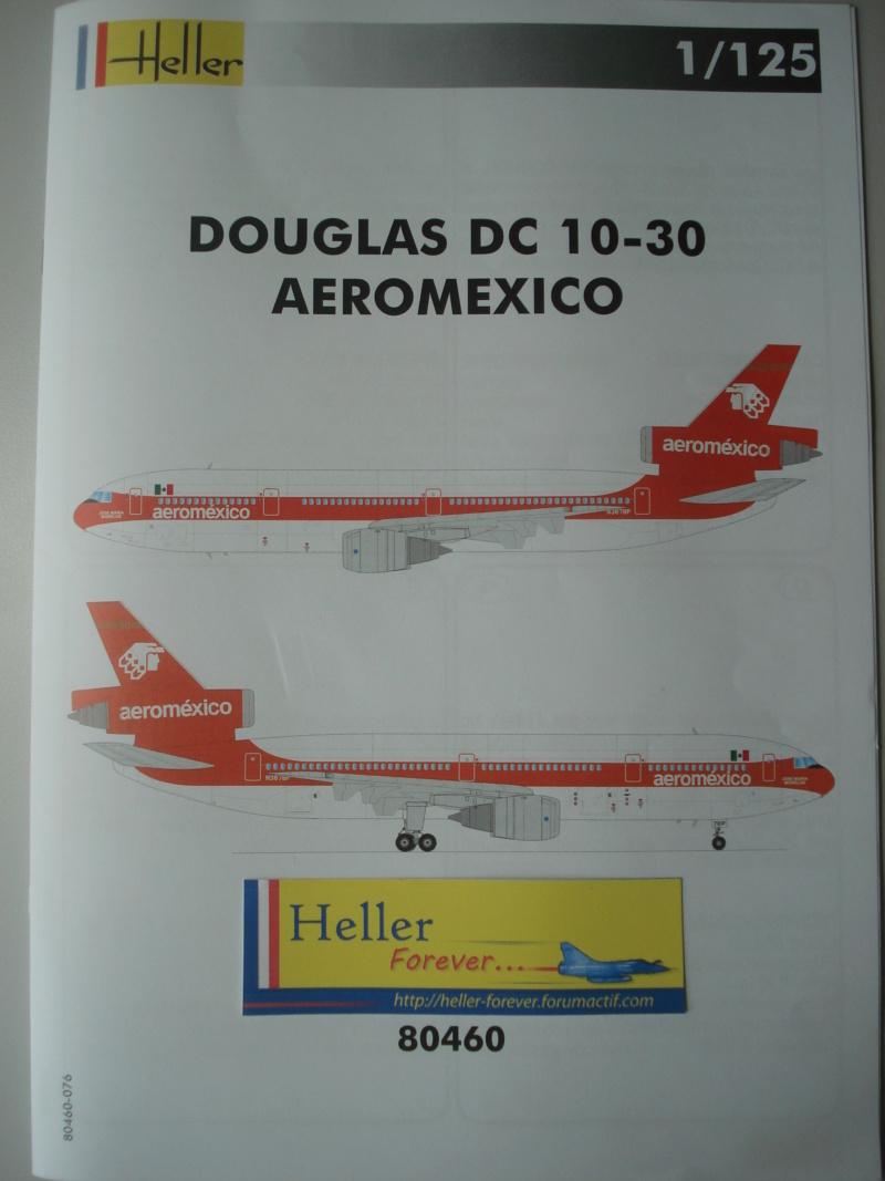 DOUGLAS DC 10-30 1/125ème Réf 80460 Notice Dsc07216
