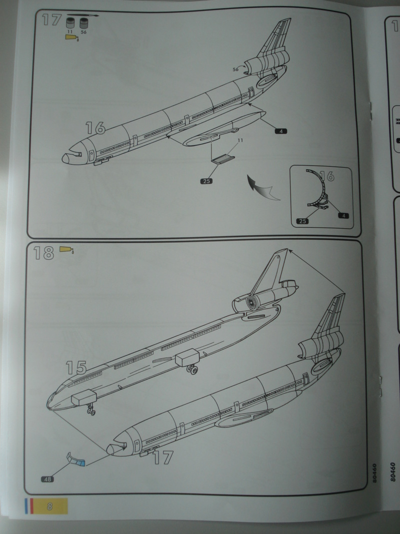 DOUGLAS DC 10-30 1/125ème Réf 80460 Notice Dsc07218