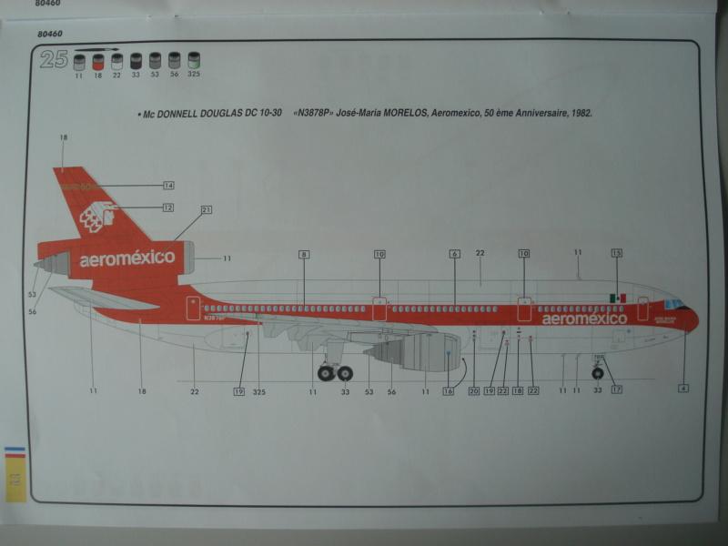 DOUGLAS DC 10-30 1/125ème Réf 80460 Notice Dsc07222