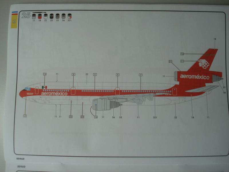 DOUGLAS DC 10-30 1/125ème Réf 80460 Notice Dsc07223