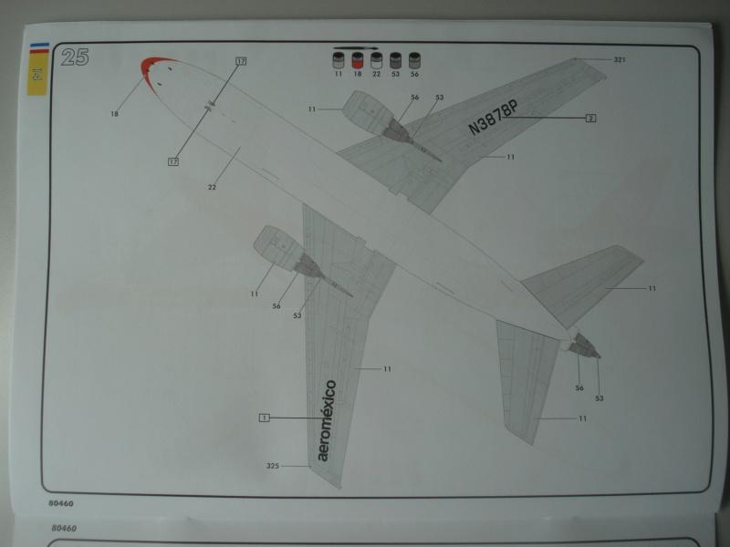 DOUGLAS DC 10-30 1/125ème Réf 80460 Notice Dsc07225