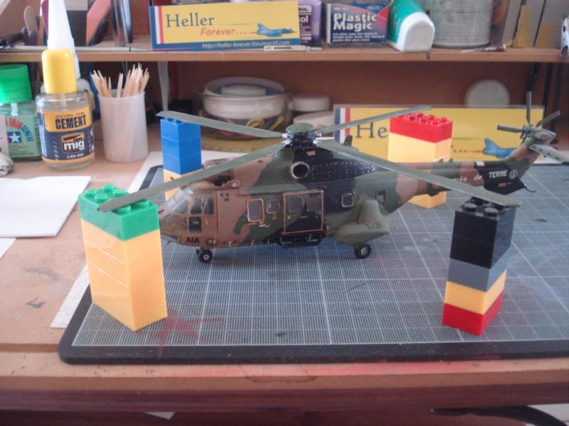 Rénovation AS 332 M1 Super Puma (cougar ALAT ) 1/72e  Dsc07333