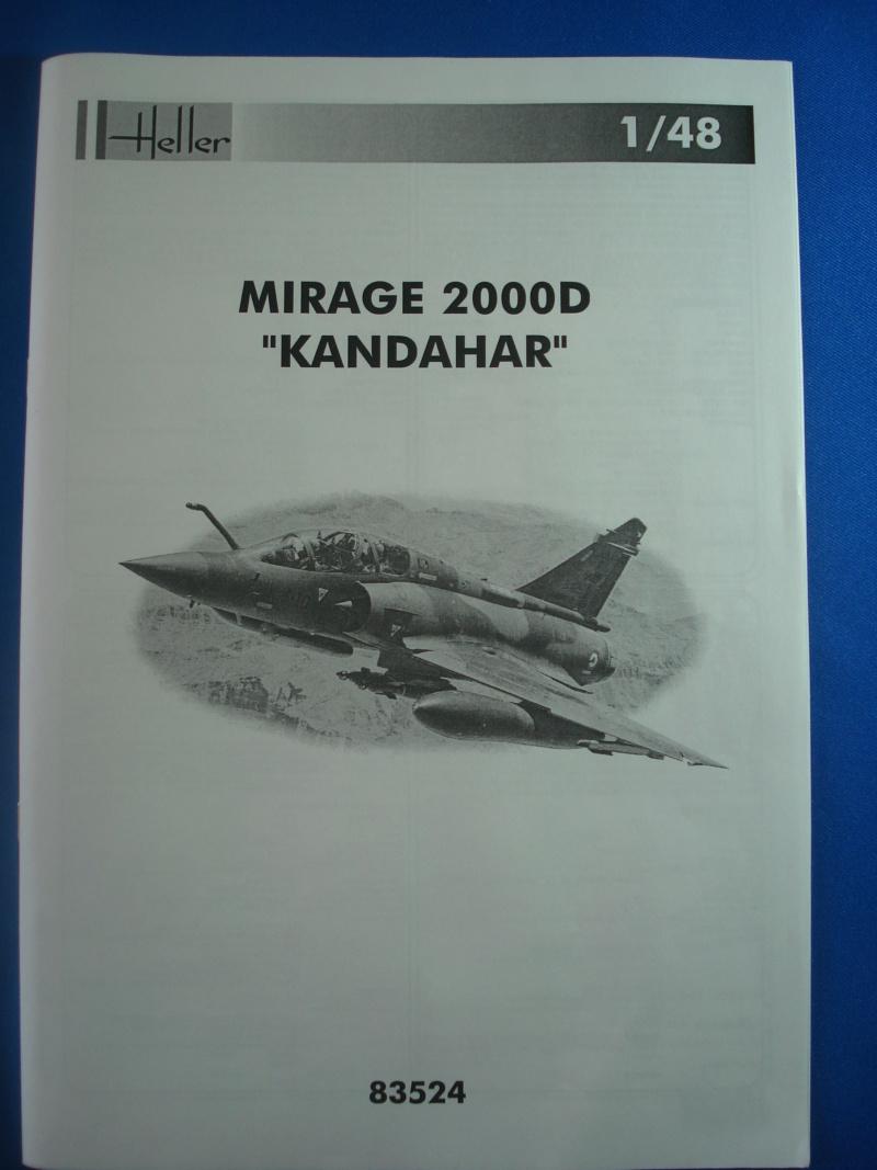 """DASSAULT MIRAGE 2000 D """"Kandahar"""" 1/48ème Réf 83524 Notice Dsc07450"""