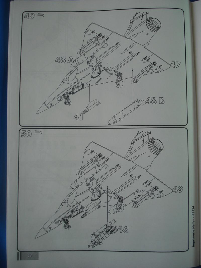"""DASSAULT MIRAGE 2000 D """"Kandahar"""" 1/48ème Réf 83524 Notice Dsc07464"""
