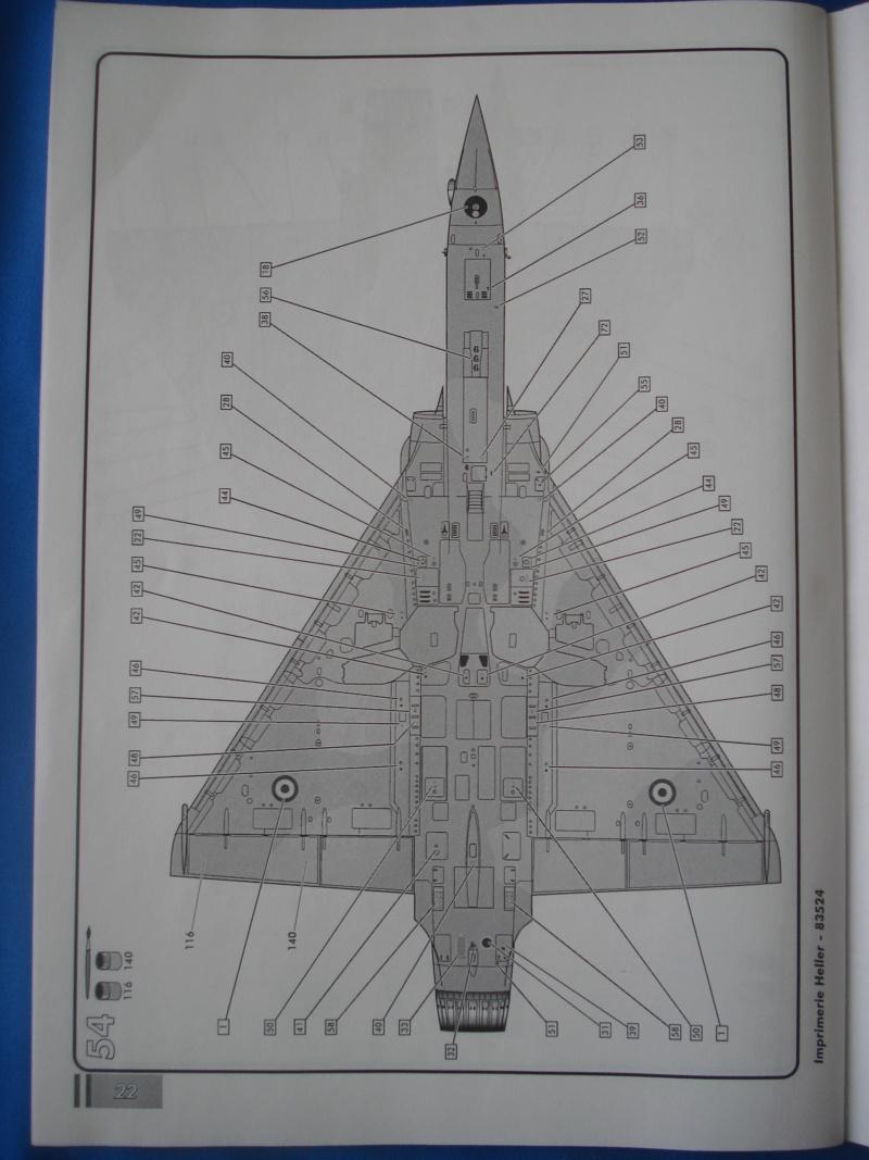 """DASSAULT MIRAGE 2000 D """"Kandahar"""" 1/48ème Réf 83524 Notice Dsc07467"""