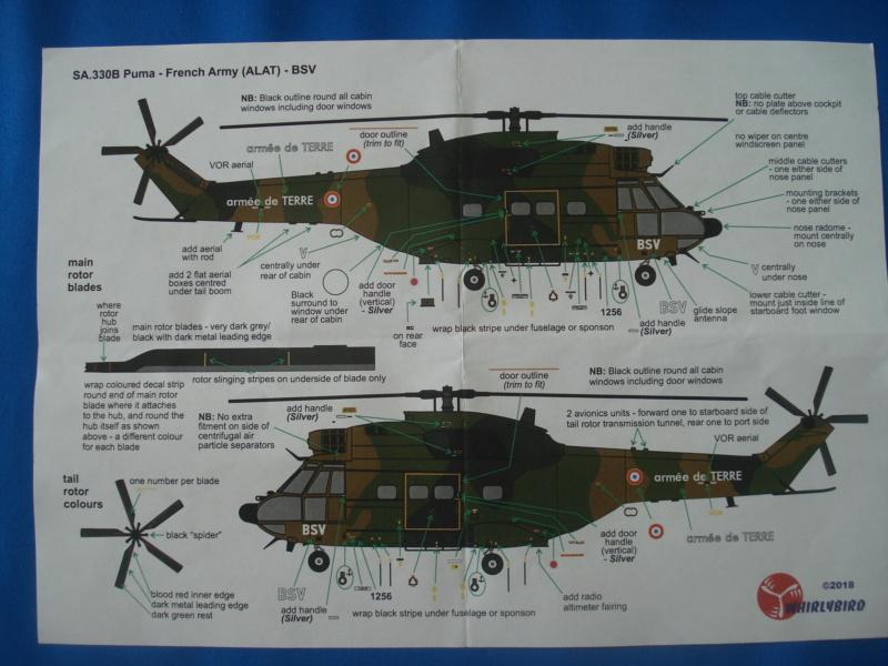 [WHIRLYBIRD]Sa 330b Puma ALAT ref WPX72069  1/72e Dsc07533