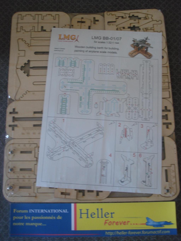 [LMG]Support de construction d'avion 1:32 - 1:144e en bois ref LMG BB-01 Dsc07638
