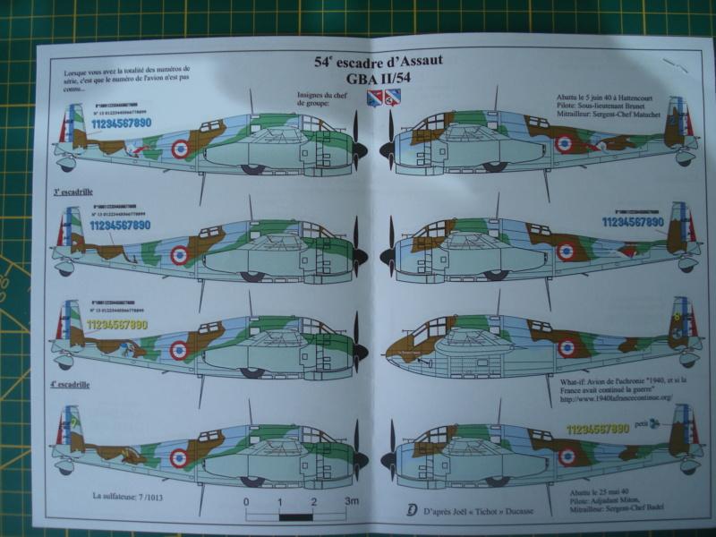 [RENAISSANCE]  Planche de décals pour BREGUET 693 HELLER 1/72ème Réf 72047 Dsc07992