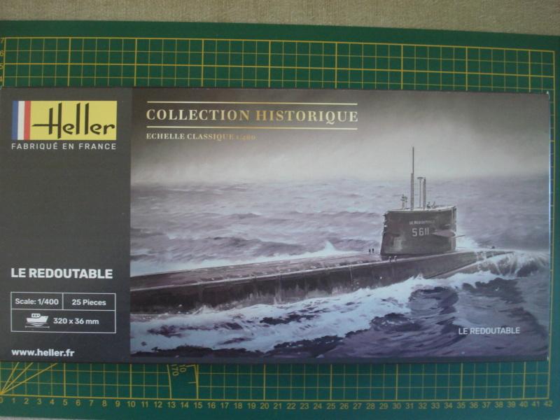 Sous-marin nucléaire lanceur d engins SNLE REDOUTABLE 1/400ème Réf 81075 Dsc08073