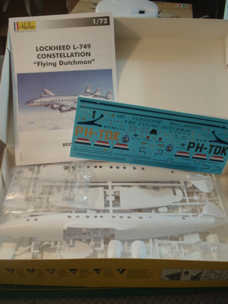 "[HELLER] Lockheed L-749 CONSTELLATION ""flying Dutchman"" 1/72 ref 80393 (2021) Dsc08345"