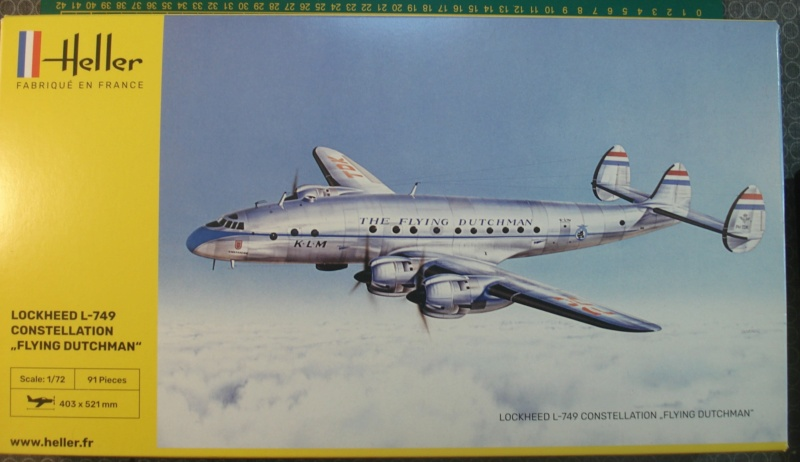 "[HELLER] Lockheed L-749 CONSTELLATION ""flying Dutchman"" 1/72 ref 80393 (2021) Dsc08361"