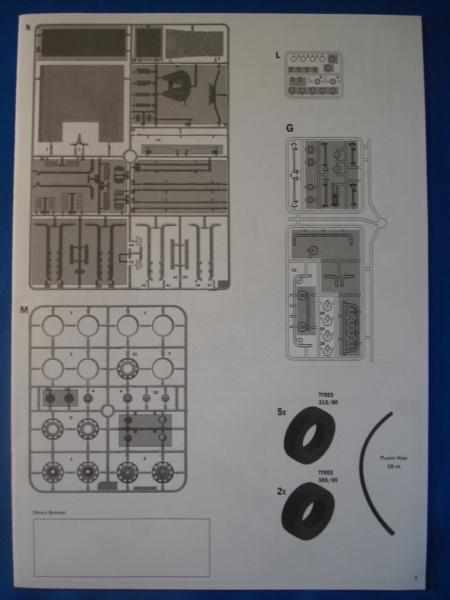 [ITALERI] DAF XF-105 Smoky Jr. 1/24ème Réf 3917 (SHOW trucks ) Notice Dsc08611