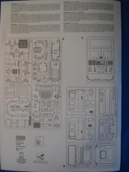 [ITALERI] DAF XF-105 Smoky Jr. 1/24ème Réf 3917 (SHOW trucks ) Notice Dsc08612