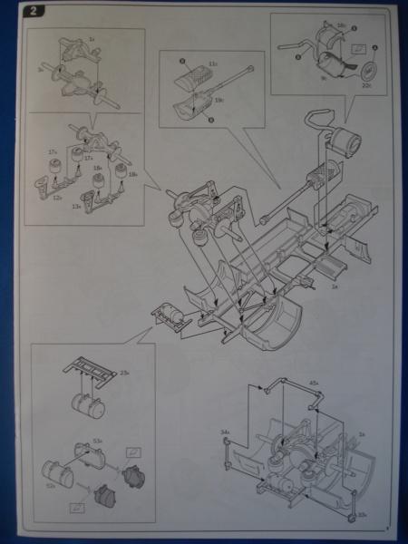 [ITALERI] DAF XF-105 Smoky Jr. 1/24ème Réf 3917 (SHOW trucks ) Notice Dsc08613